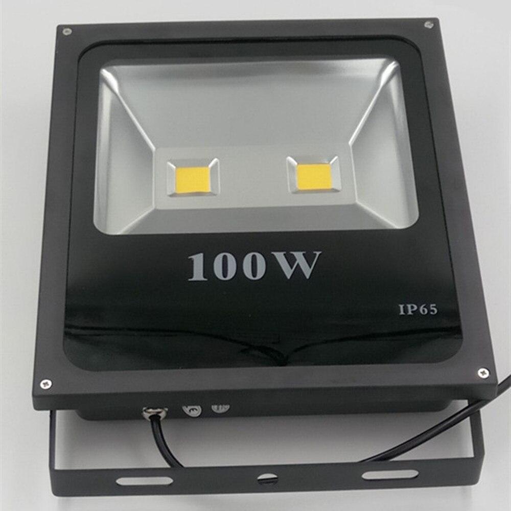 Led Floodlight 100w Ultal Thin Flood Light Spotlight 220v 230v Waterproof Outdoor Wall Lamp Projectors In Floodlights From Lights Lighting On