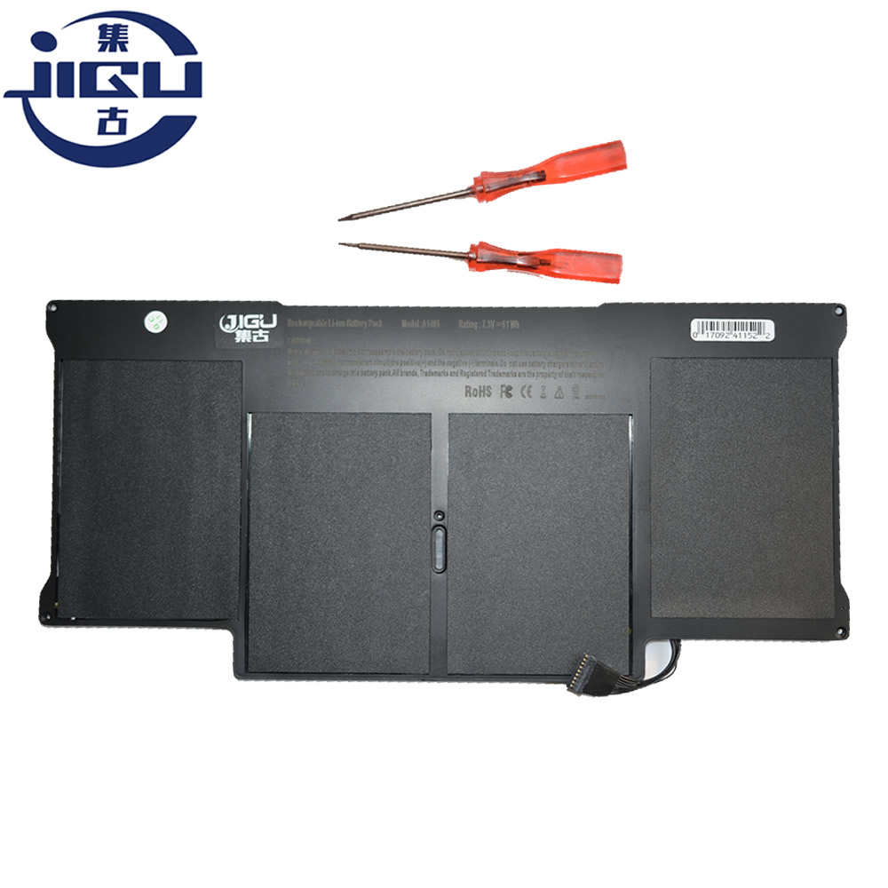 JIGU Wholesale New Laptop Battery For Apple MacBook Pro 13 A1369 2011 YEAR A1466 2012 Version A1405 MC503 MC504 hsw rechargeable battery for apple for macbook air core i5 1 6 13 a1369 mid 2011 a1405 a1466 2012