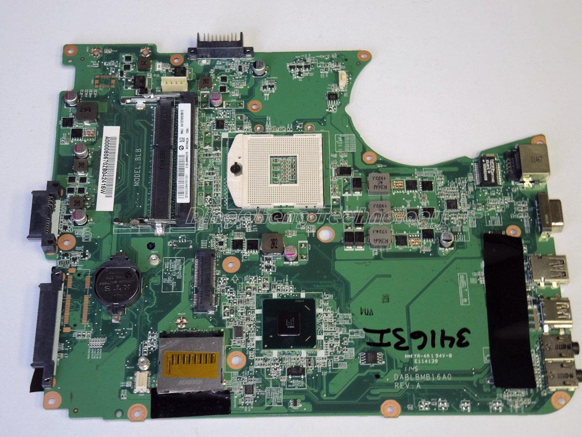 For Toshiba Satellite L755 Original laptop Motherboard A000080670 DA0BLBMB6F0 integrated graphics card 100% fully tested asep rahmat fajar the public participation in the selection of justice in indonesia