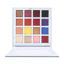 16-color Marble Eye Shadow Palette Waterproof Smudge-roof Easy To Color Glitter Matte