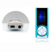 Hot Selling! Sport MP3 Media Player New Mini Music Player Shiny Mini USB Clip LCD Screen Support 16GB Micro SD Card MP3/WMA Jan6