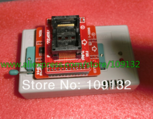 送料無料tsop48 icアダプタ用minipro tl866ユニバーサルプログラマtsop48ソケット用tl866a tl866cs TL866IIプラス