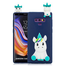 3D Cartoon Panda Soft TPU Case Voor Samsung Galaxy A30 A50 A9 2018 A7 J4 J6 M10 M20 S10E S10 PLUS GEL Skin Cover Luxe 1 pcs(China)