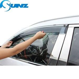 Image 2 - Osłona okienna do BMW 320i 2010 2018 osłona boczna szyba osłony przeciwdeszczowe do BMW 320i 2010 2018 SUNZ