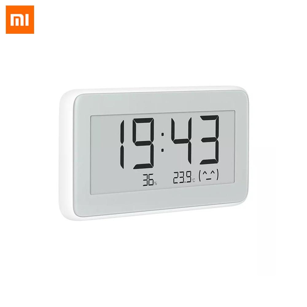 Bt4.0 sem Fio Novo Original Xiaomi Mijia Inteligente Elétrico Digital Indoor & Outdoor Higrômetro Terômetro Relógio Ferramentas Conjunto