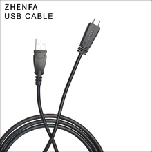 Zhenfa כבל טעינת כבל USB עבור Sony DSC TX10 DSC TX20 DSC TX55 DSC TX66 DSC TX100 DSC WX7 DSC WX9 DSC WX10 HX9 DSC HX7