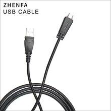 ZhenfaสายUSBสำหรับSonyสายชาร์จDSC TX66 DSC TX55 DSC TX100 DSC TX10 DSC TX20 DSC WX10 DSC WX7 DSC WX9 HX7 HX9