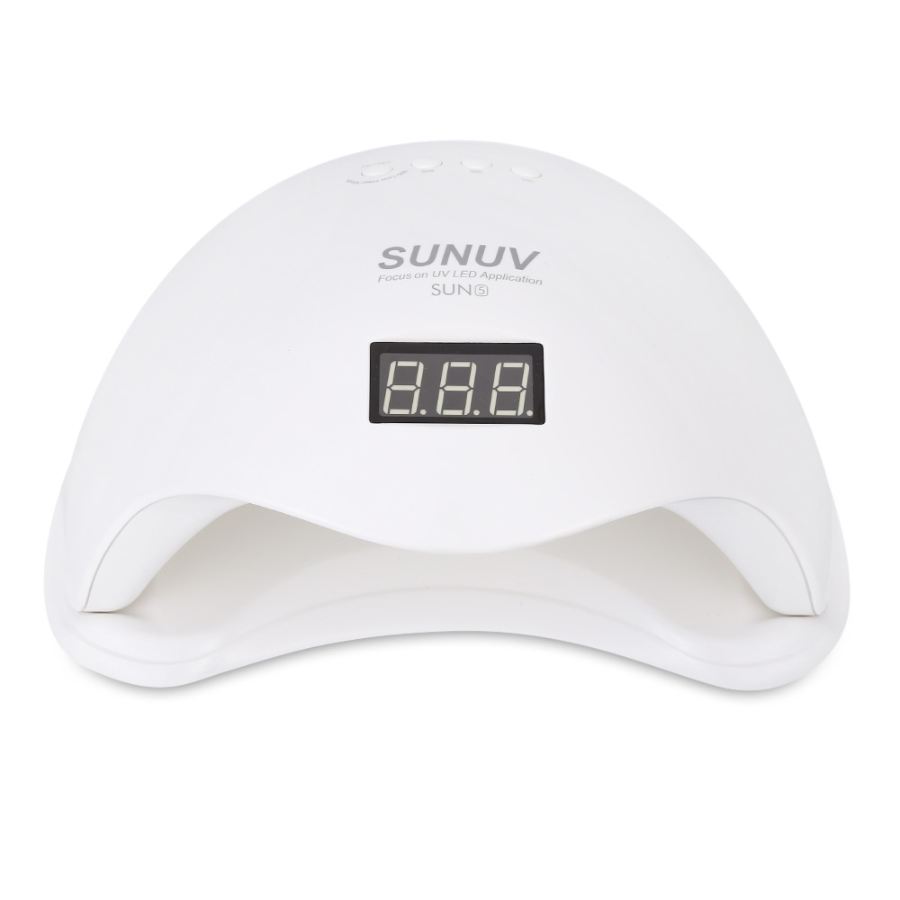 48W UV LED Nail Dryer with LCD Timer and Bottom Makeup Led Nail Lamp Machine for