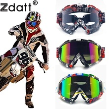Zdatt Профессиональные взрослых мотокросса Fox Racing mx, мотоцикл очки спортивные лыжные Очки