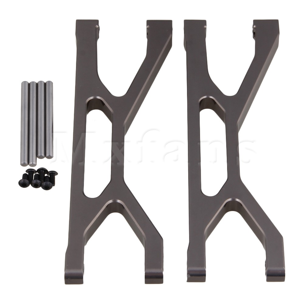 ФОТО Mxfans 2 x Titanium Upper Suspension Arm for TRAXXAS XMAXX Largefoot Car Upgrade