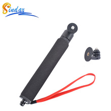 Waterproof Monopod Selfie Stick+Float Bobber Selfie Monopod for Gopro hero 3/4 5 6 Xiaomi Yi II Accessories