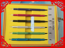 Free Shipping Set Of 6 Hand Setting zero.5mm & 1.5mm Presto Press Tool For Watchmaker