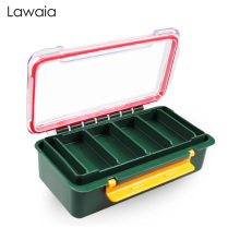 Lawaia Fishing Tackle Boxes Luya Double-layer Accessory Box Hook Fake Bait Small Storage Supplies Gears