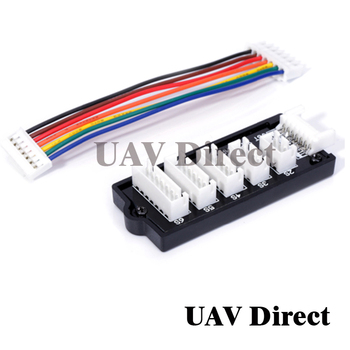 RC 2S-6S Lipo Battery Parallel Charging Board Balance Charger Plate For Imax B6 B6AC B8 uk JST-XH Balance Adap image