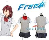 Free! Iwatobi Swim Club Gou Matsuoka For Women Party Anime Halloween Cosplay Costume