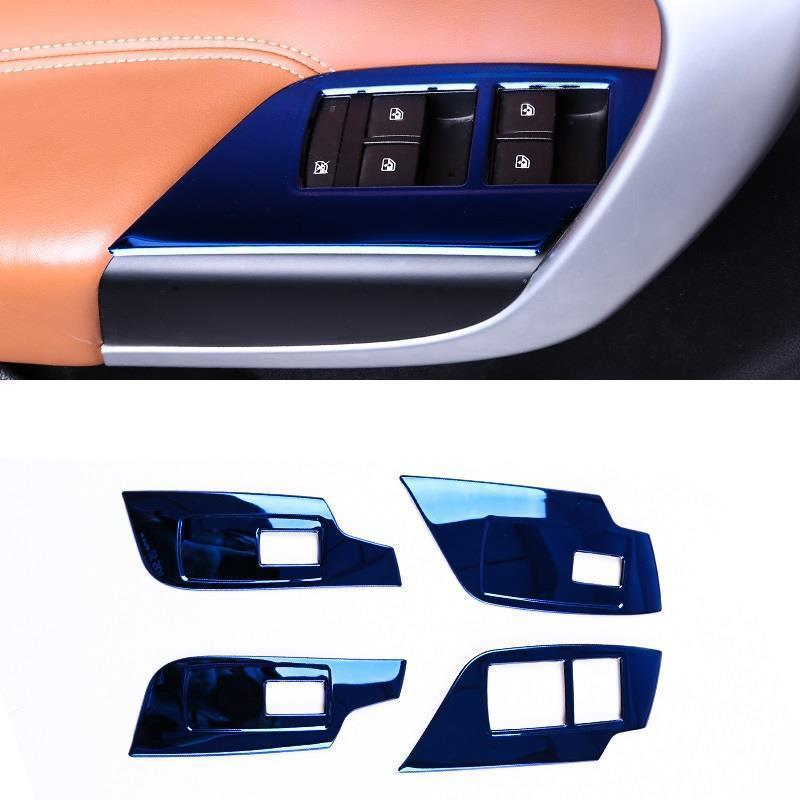 Window Door Handle Automobile Chromium Upgraded Auto Car Styling Bright Sequins Covers 09 10 11 12
