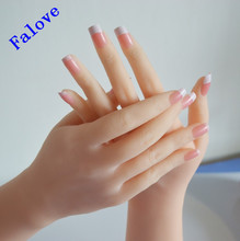 Free Shipping !!Top Level Silicone Hand  Model Mannequin On Sale