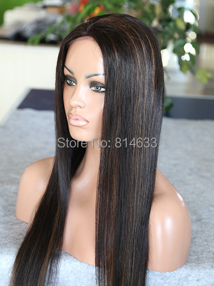 Worthy lace front straight real remy hair wigs 1b30 highlight worthy lace front straight real remy hair wigs 1b30 highlight black glueless virgin brazilian hair lace front wig in human hair lace wigs from hair pmusecretfo Gallery