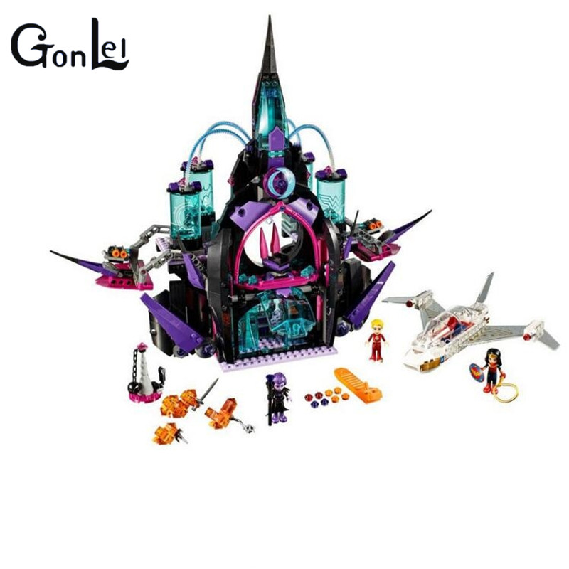(GonLeI) 29010 1093Pcs Super hero Eclipso Dark Palace Girl Building Block Compatible 41239 Brick Toy мозаика l antic colonial frame brick dark 10x20 28 5x31 1