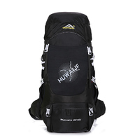 Hiking Backpack Outdoor Camping Waterproof Travel Large Sport Backpack Unisex Nylon Softback Polyester 70 L