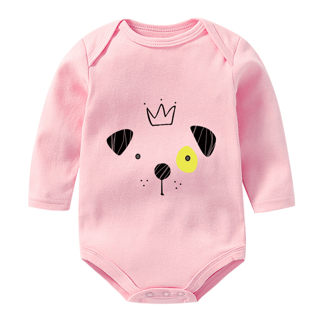 OkayMom Cotton Newborn Romper Roupas de bebe Infant Baby Jumpsuit Clothes Baby Girls Boys Overalls Rompers Clothing For Baby New