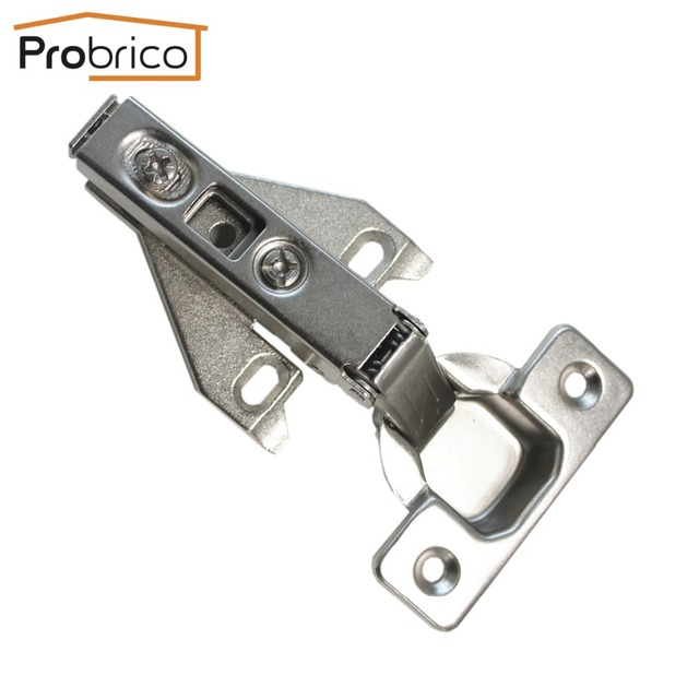 Probrico 4 Pair Face Frame Kitchen Cabinet Hinges Iron Chhs09Ga