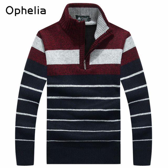 Warm Winter Men's Sweaters Thickening Casual Pullover Cashmere Sweaters Man Knitwear plus size Masculino Clothing