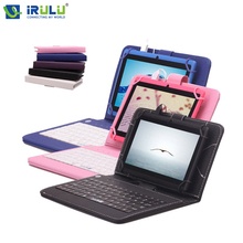 iRULU eXpro 7 » Tablet  Android 4.4 Quad Core Tablet Allwinner 8GB ROM Dual Cameras supports WiFi OTG HOT Seller w/EN Keyboard