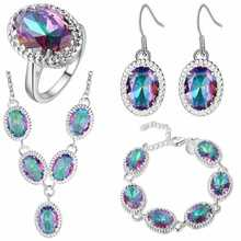 Thick silver jewelry set speed sell through the explosion of United States and f