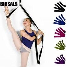 Banda elástica de Ballet para la pierna, para baile, gimnasia, ejercicio, entrenamiento, gimnasio, estiramiento de pies, 020