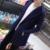Homens do revestimento de trincheira de forma magro médio-longo Ponto Aberto camisola sólida outerwear plus size masculino casaco cardigan Com Capuz tamanho 5XL