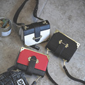 Novo estilo das mulheres bolsa saco do mensageiro maleta Saco envelope do vintage bolsa de ombro feminino mini alta qualidade Marca original