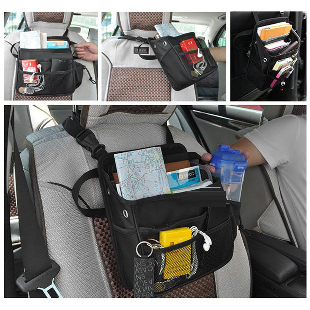 universal car seat back storage bag 28cm23cm car styling luggage holder pocket pouch travel
