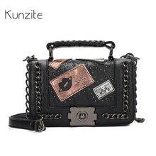 Kunzite New 2017 Luxury Handbags Women Bags Designer Famous Brand Chains Girls Messenger Bags Crossbody Shoulder Bags Sac A Main
