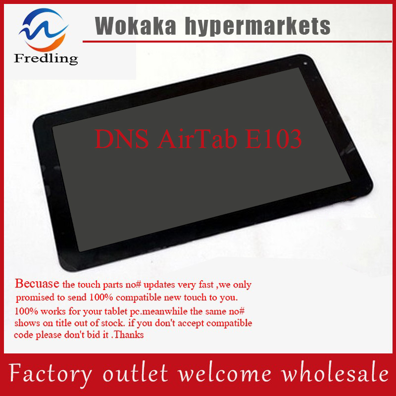 Original Touch Screen Digitizer For 10.1 inch DNS AirTab E103 Tablet Touch Panel Glass Sensor Replacement Free Shipping original new touch screen 9 inch dns airtab m93 tablet touch panel digitizer glass sensor replacement free shipping