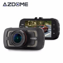 Azdome DAB205 Car DVR Camera Ambarella A12 Chip HD 1440p 30fps Video Recorder G-sensor HDR ADAS Cycle Recording Dash Cam H36