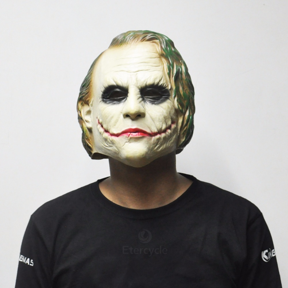 Clown Halloween Horror Scary Mask Costume Cosplay Movie Rubber Latex Face Masks