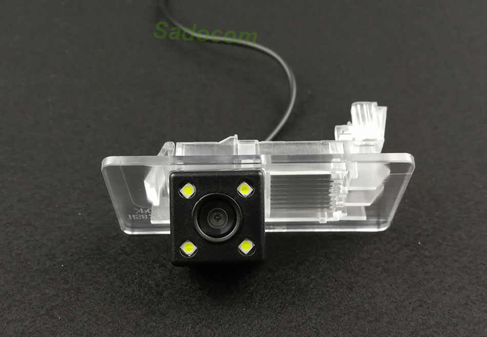 Caméra de recul de Vision nocturne CCD de voiture HD pour VW Passat Sagitar Gran Lavida Jetta Skoda Yeti Rapid Spaceback Superb 13/15