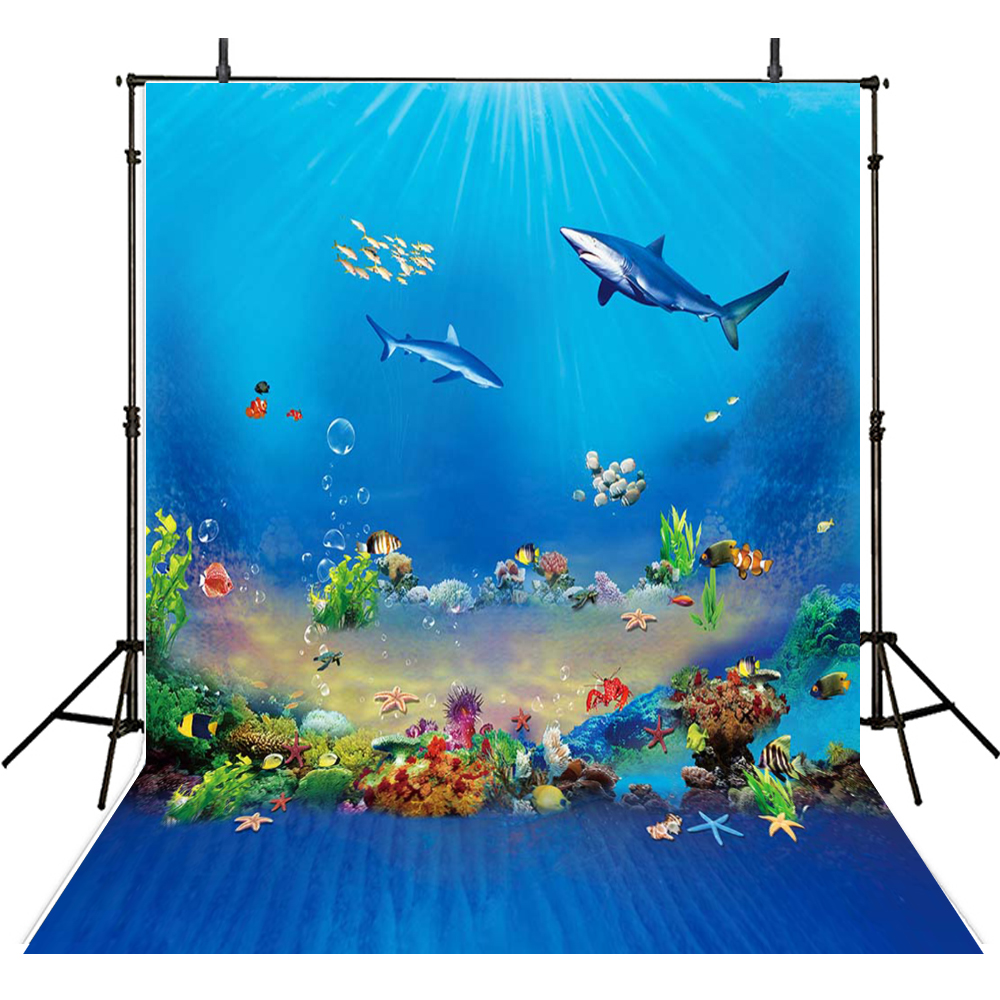 Kids Photography Backdrops Ocean Backdrop For Photography Aquarium Background For Photo Studio Underwater Foto Achtergrond children photography backdrops clouds backdrop for photography girls background for photo studio balloons foto achtergrond