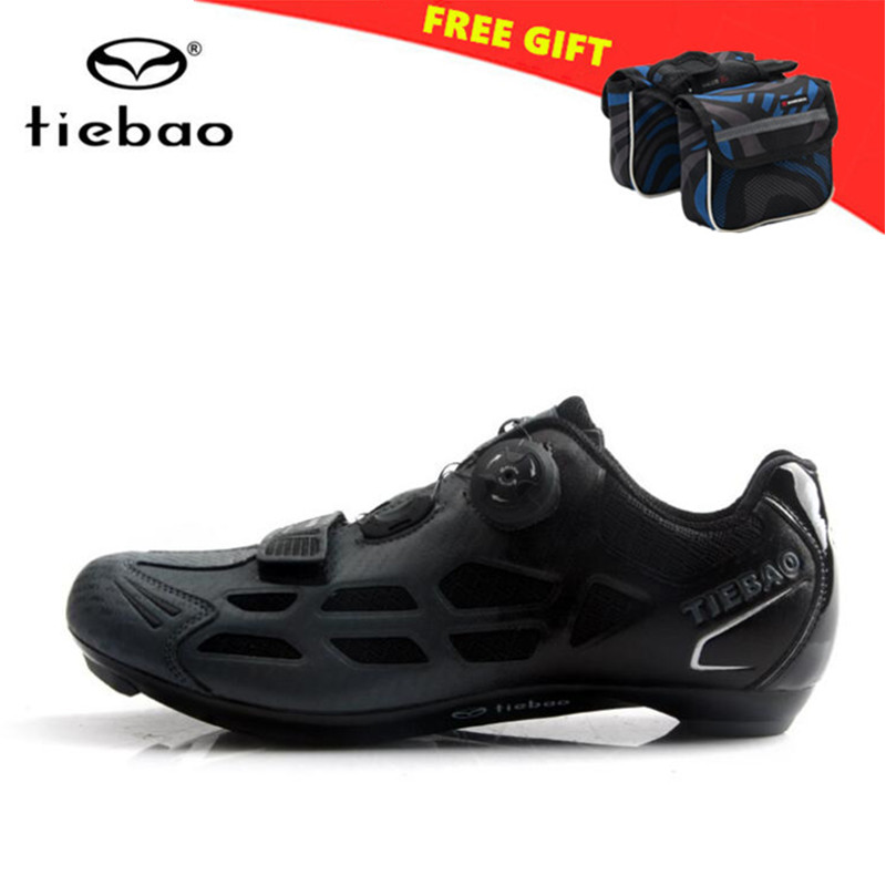 TIEBAO Road Cycling Shoes zapatillas deportivas mujer professional sapatilha ciclismo Breathable Bicycle Shoes Cycle Sneakers tiebao tiebao b1285 recreational cycling shoes black green size 42