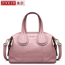 ZOOLER genuine leather Bag Ladies Luxury woman bags bag handbag top handle handbags  Solid soft material bolsa feminina #1306