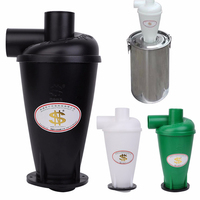 Cyclone SN50T3 Dust Collector Vacuum Cleaner Filter Dust Separator Catcher Turbo With Flange Base 1 Set