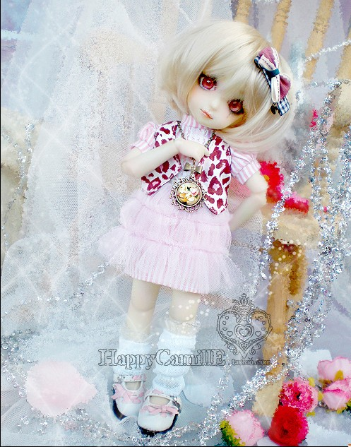 1/6 scale BJD doll clothing BB YOSD Cute Princess dress suit for BJD/SD accessory.Not included doll,shoes,wig and other 17C3376