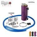 DYNO-Freeshipping 750 ML de Alumínio Tanque de Captura De Óleo De Corrida/Pode Rodada Pode Reservatório Turbo Captura lata de Óleo/pode Pegar universal