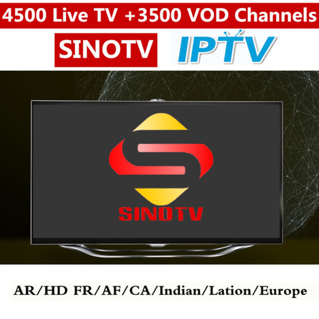 US $37 88 |1 Year SINOTV World IPTV M3U Enigma2 IPTV Italy UK Germany 4K  French Canada USA Latin American Channels For Android Box Smart TV-in  Set-top