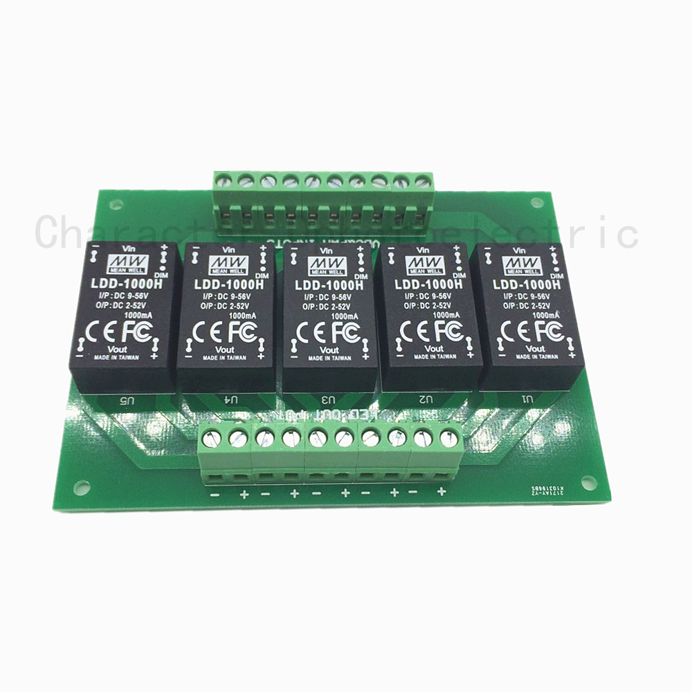 1piece 5UP Ldd-h meanwell Driver PCB With 350H 500H 700H 1000H 5 Channel