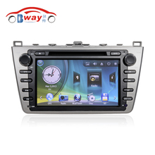 Free Shipping 8″ Car audio Radio For MAZDA 6 (2008-2010) car dvd player with GPS Radio Bluetooth SD USB,Free 8GB map card