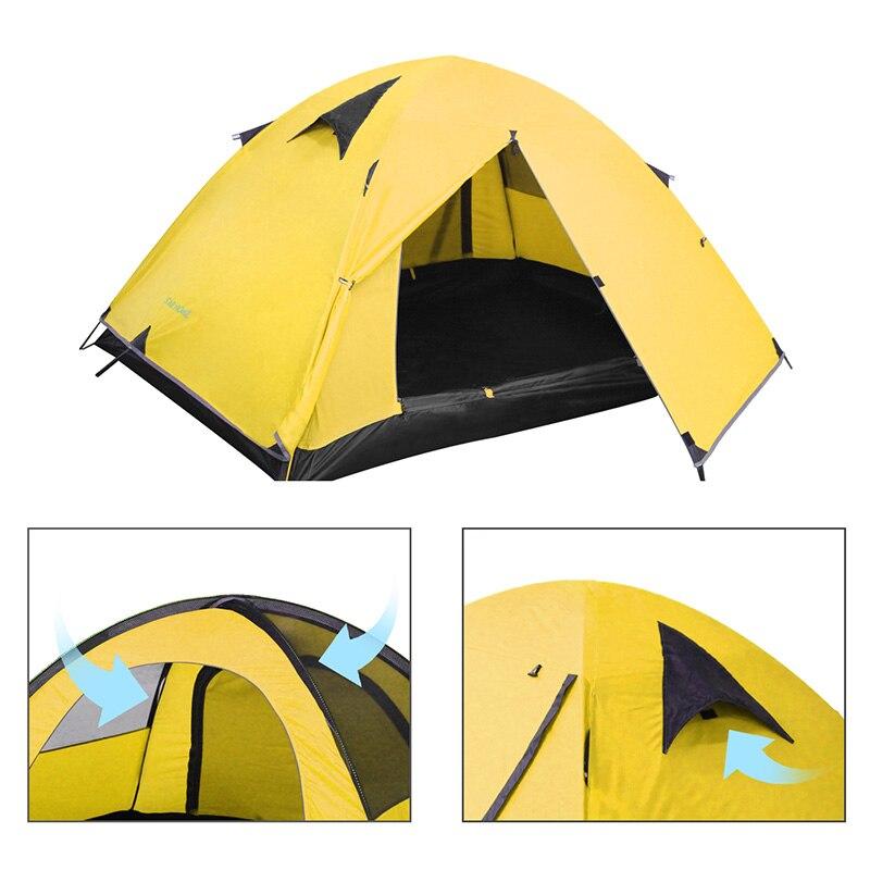 Tent outdoor camping tent waterproof camping hiking tent 3 colorsTent outdoor camping tent waterproof camping hiking tent 3 colors
