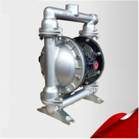 QBY 25P Stainless Steel Diaphragm Pump Pneumatic Mining Pump with F4 diaphragm