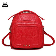 Shoulder Bags 2016 Summer New Handbag Bag Multifunction Stitching Small Portable Messenger Leisure Casual Pu Satchels Women Two